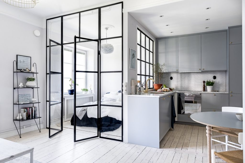 Glass partitions: separate without dividing - Interior Notes