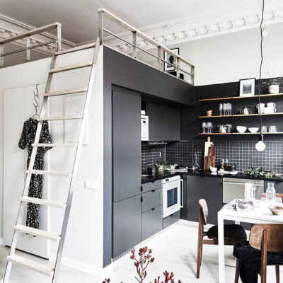 Kitchen trend: Black is the new White!