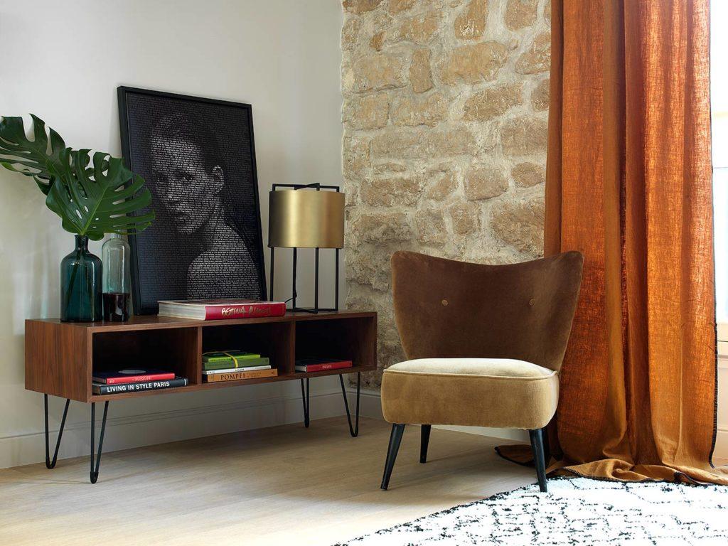 an apartment in the Marais, Paris