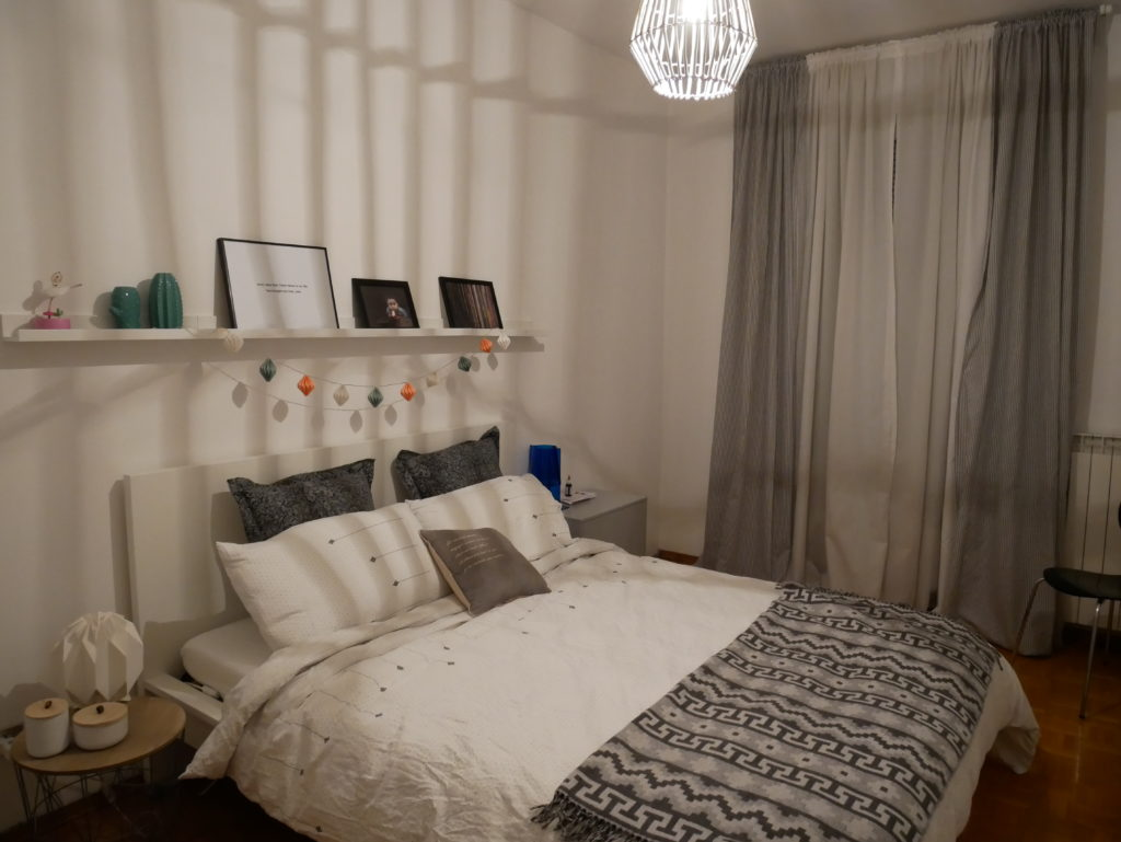 My bedroom restyling option 1 Interior Notes