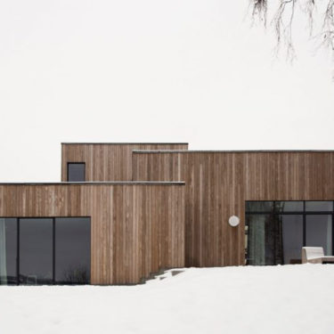 Gjøvik House, where minimalism becomes cozy