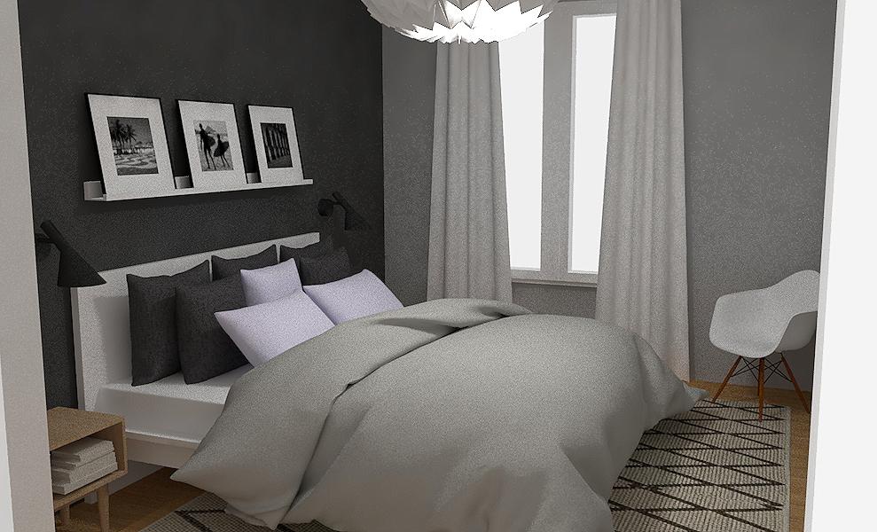 Restyling della mia camera da letto - opzione 2 - Interior Notes