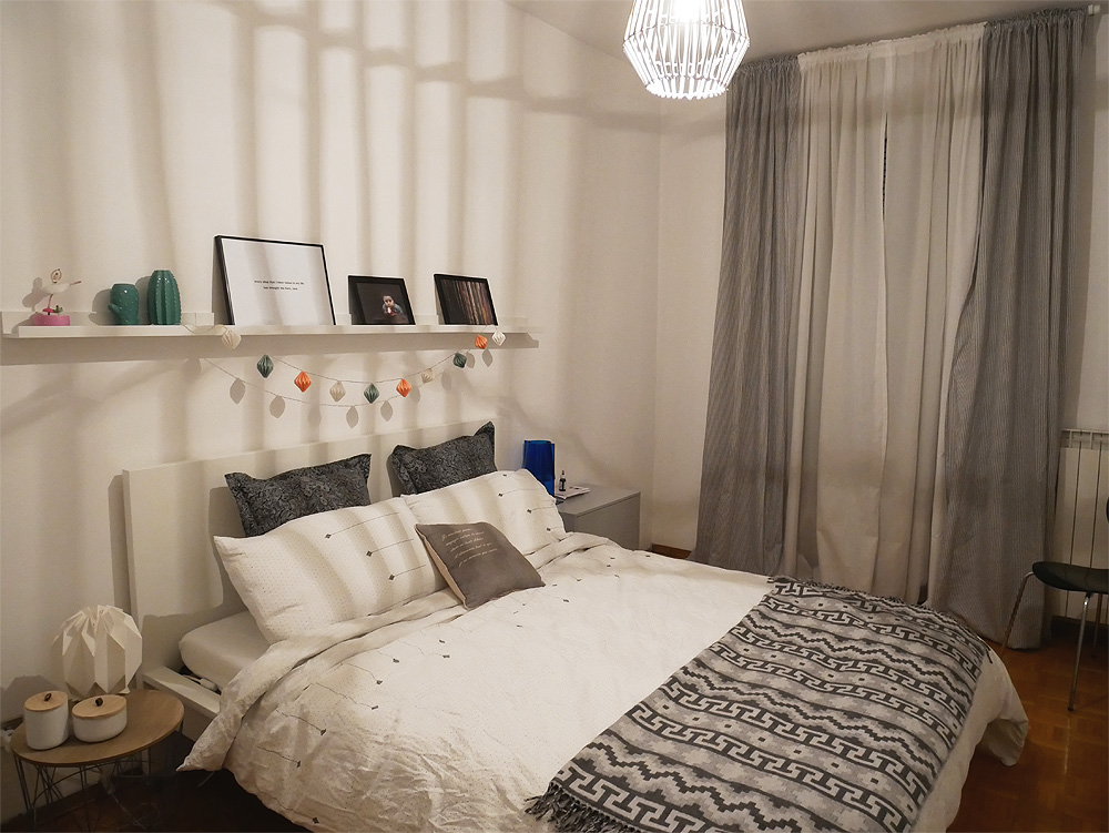 My bedroom restyling - option 2 - Interior Notes