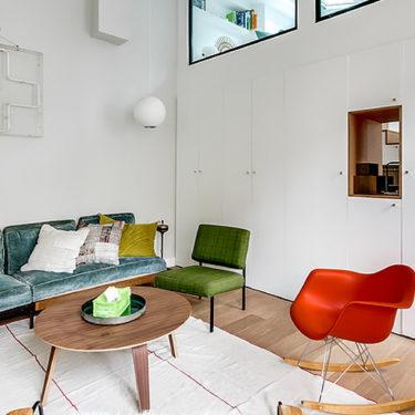 The Parisian apartment of an interior designer