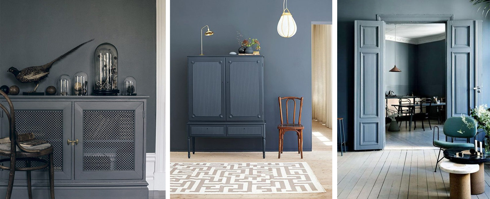 Trend: walls and furniture of the same color