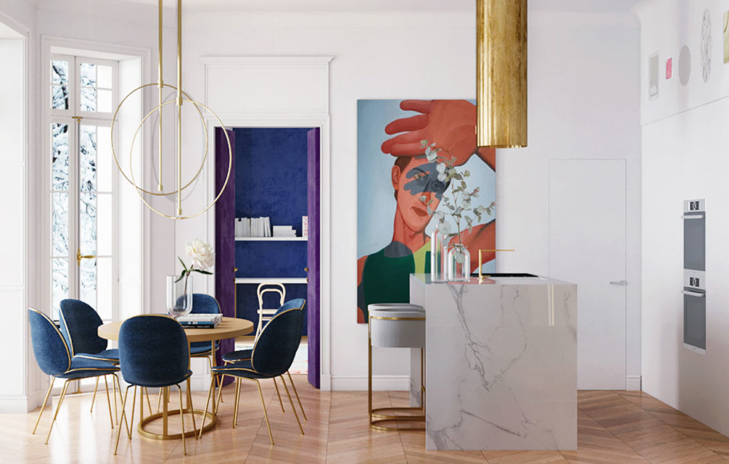 Parisian apartment by Crosby studio_03