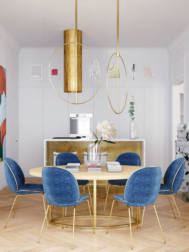 Parisian apartment by Crosby studio_04