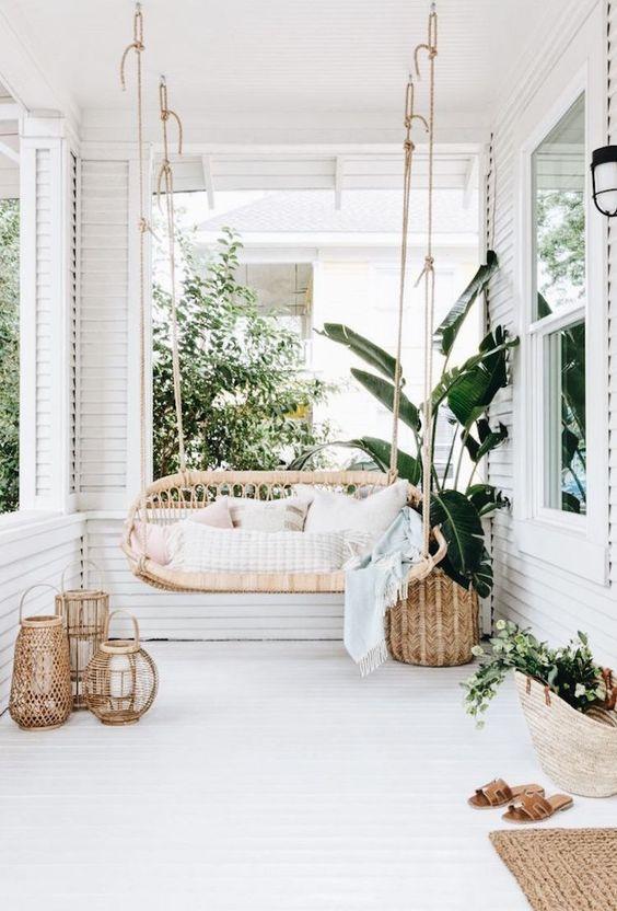 bohemian patio