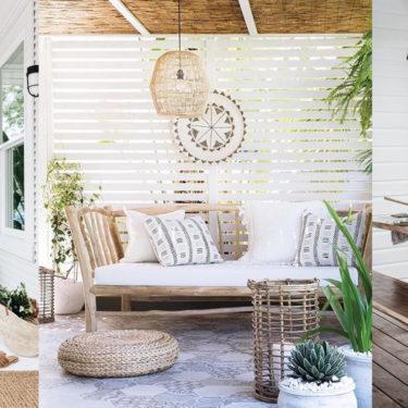Come arredare un terrazzo in stile naturale