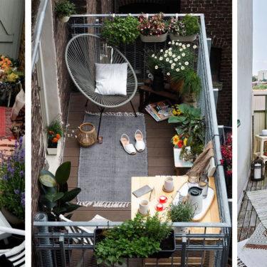 5 consigli per arredare e valorizzare una balcone piccolo