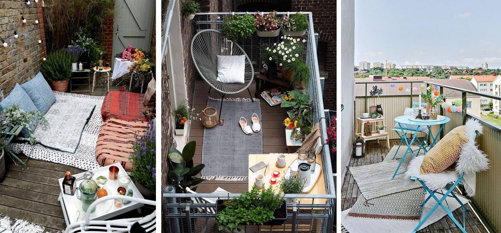 5 consigli per arredare e valorizzare una balcone piccolo for Consigli per arredare