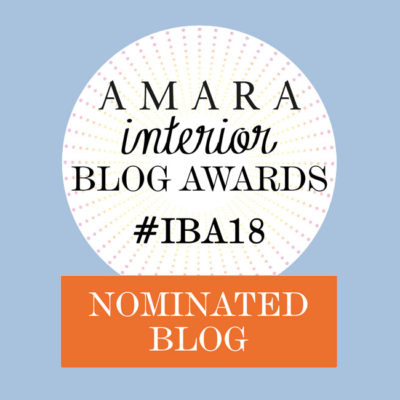 Sono in nomination agli Amara Interior Blog Awards