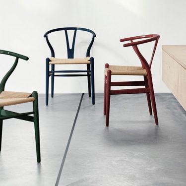Una edizione limitata della Wishbone Chair.