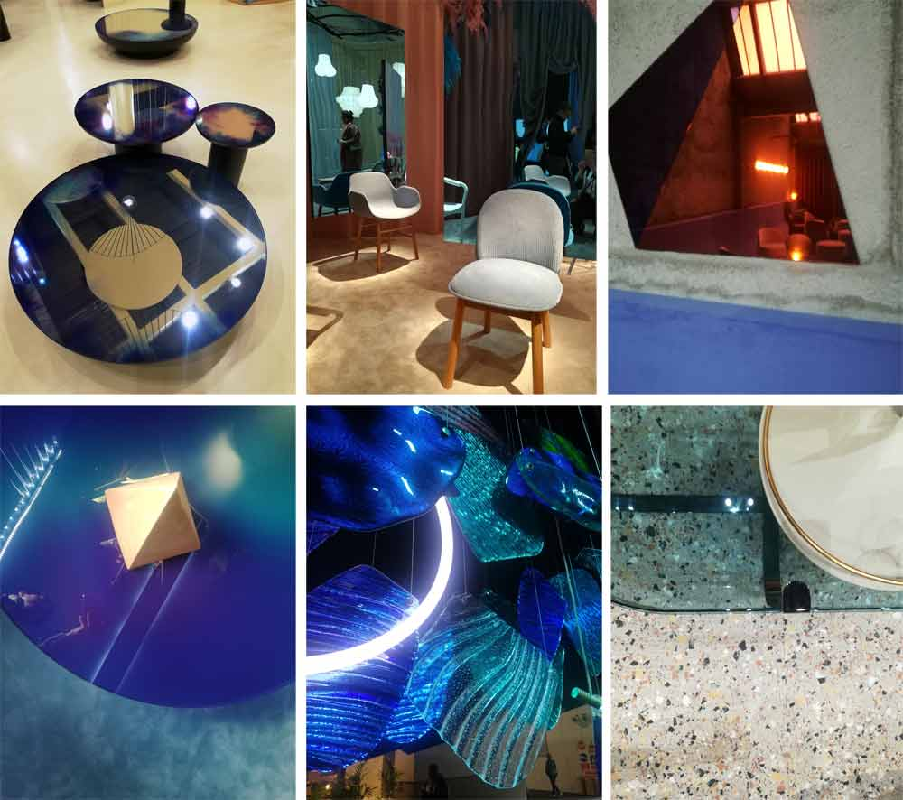 mdw19 trends: colored glass