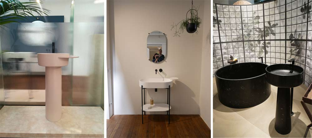 Mdw 19 trend: free-standing sink