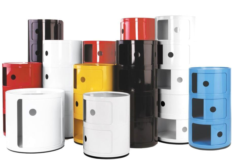 Colored Componibili Kartell