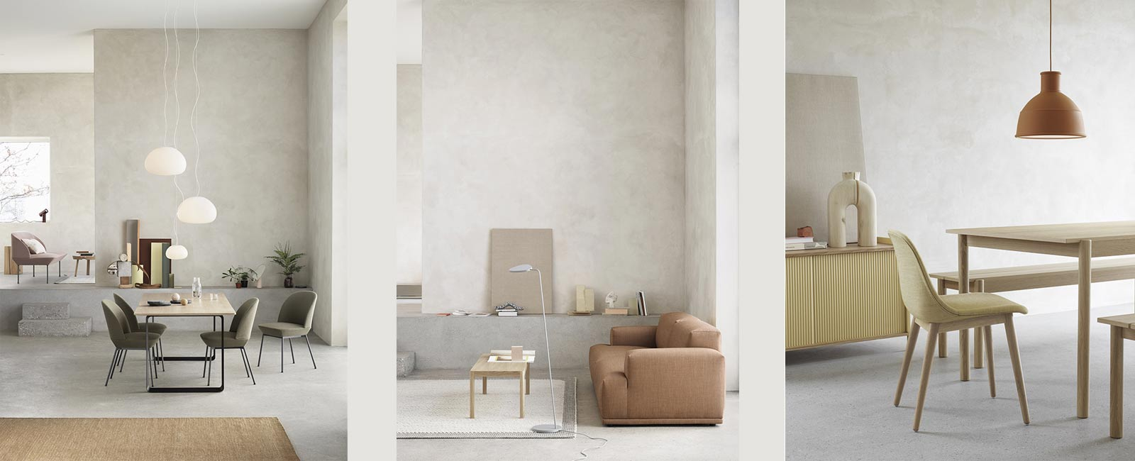 Inspiration from Muuto's Spring News for 2019.