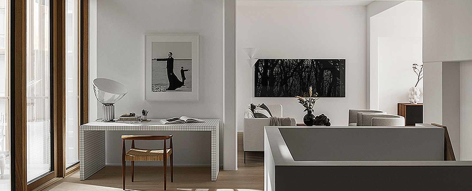The minimal and cozy style of Lotta Agaton in a Stockholm apartment
