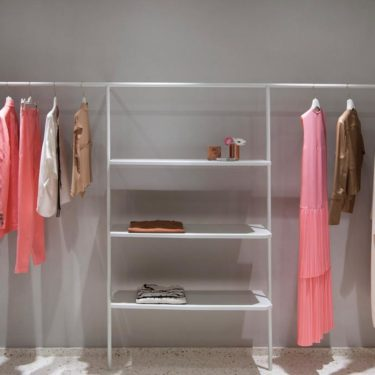 Sophisticated look for the Alysi boutique designed by Studio Pepe