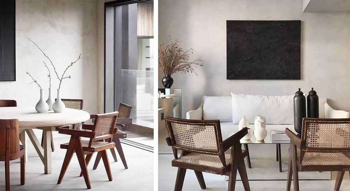 """The story behind the chair that inspired Cassina's """"Hommage á Pierre  Jeanneret"""" collection - Interior Notes"""