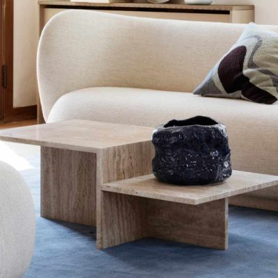 Sculptural coffee table