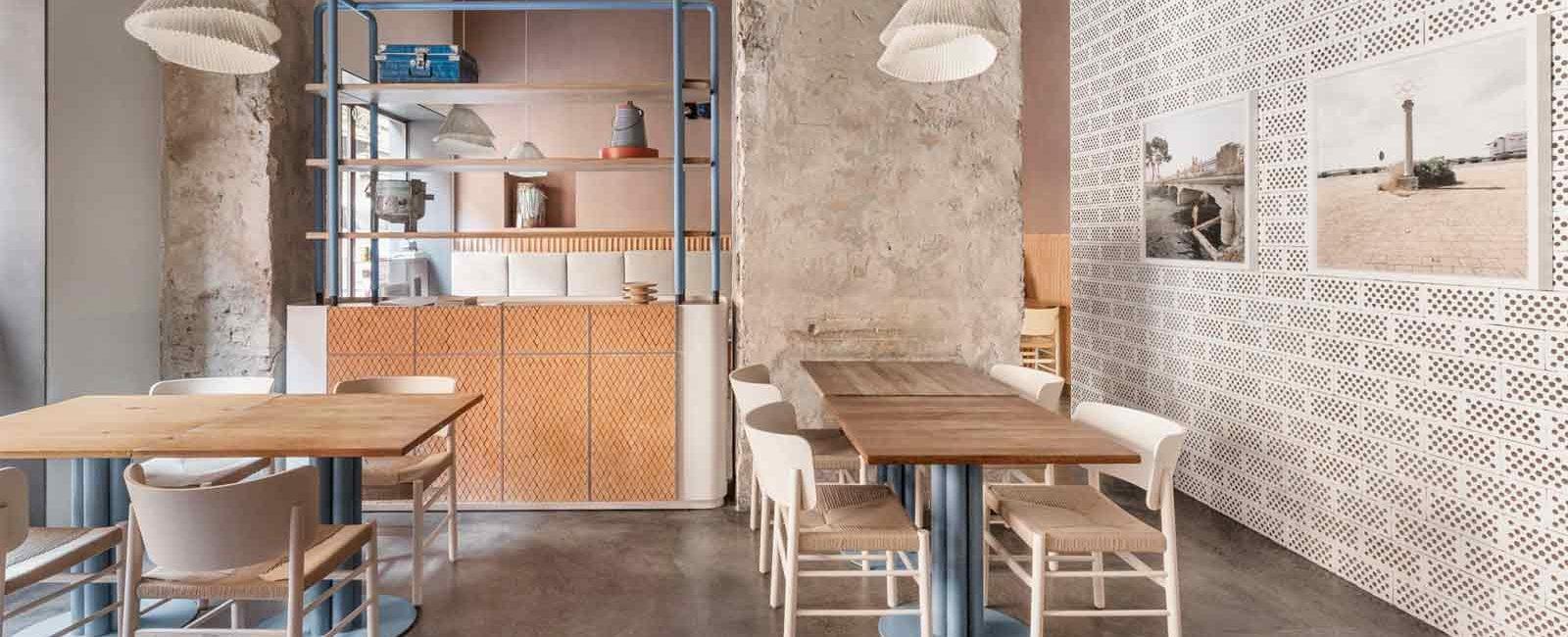 Cristina Celestino rinnova gli interni del ristorante 28 Posti a Milano