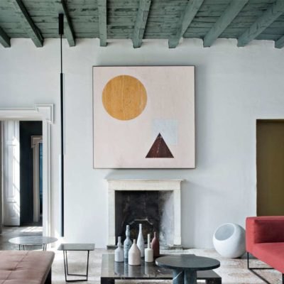 Ceilings: how to enhance them with color