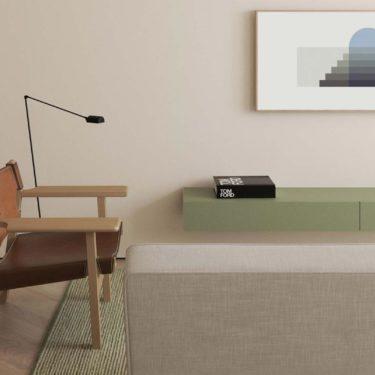 Un appartamento dallo stile minimal a Copenhagen