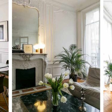 Discreet modern luxury in a Parisian apartment.