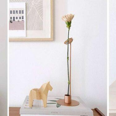 """""""Stelo"""", the single flower vase I designed for Hiro."""