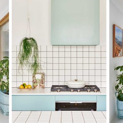The colorful house of interior stylist Emma O'Meara