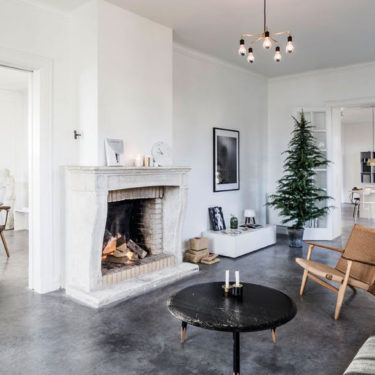 Una Navidad minimalista