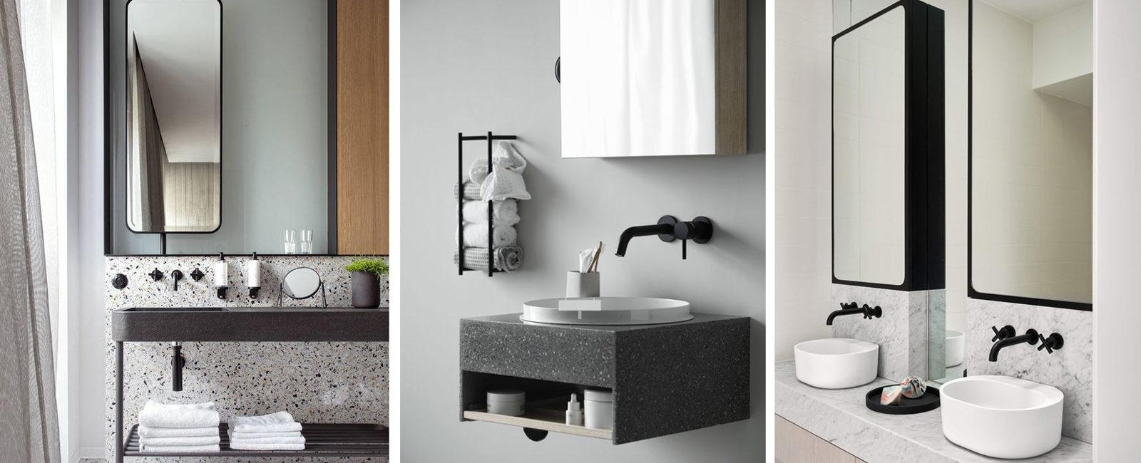 Interior notes my notes on interior design and decoration - Rubinetteria bagno nera ...
