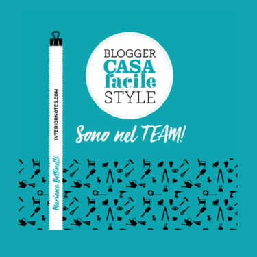 Big news today! I am officially a blogger for the Italian magazine CASAfacile!