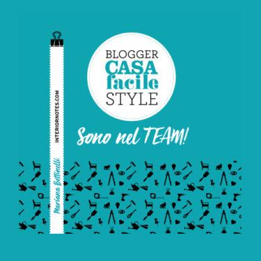 Grande notizia! Sono ufficialmente una blogger per la rivista CASAfacile!