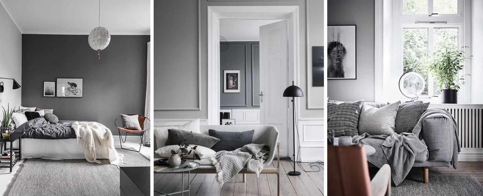 Parete Grigia Camera Da Letto ecco perchè il grigio è il colore perfetto per gli interni