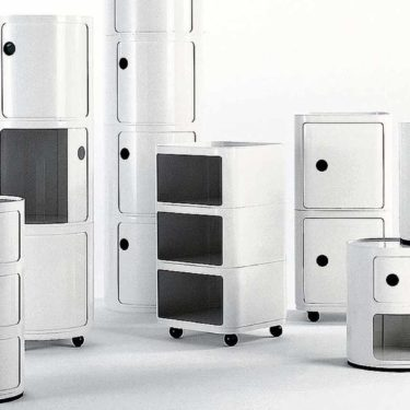 HISTORY OF DESIGN: KARTELL COMPONIBILI STORAGE MODULE