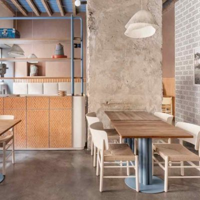 Cristina Celestino revamps the interiors of the 28 Posti restaurant in Milan