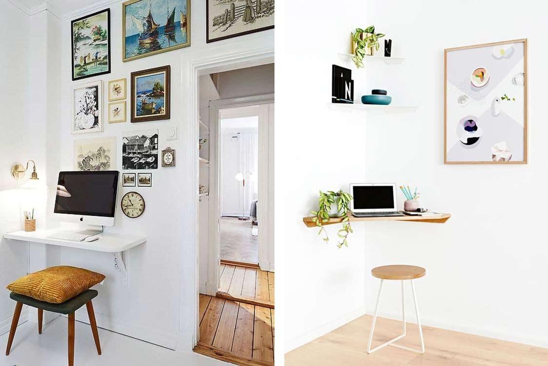 Idee Per Posizionare Mensole idee per creare un angolo ufficio in casa - interior notes