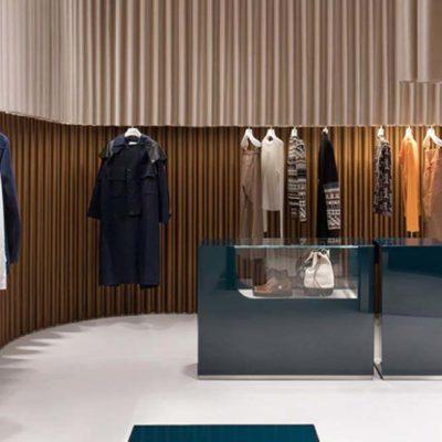Il negozio Lanvin a Shanghai progettato da Dimorestudio
