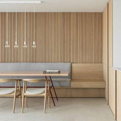 Residence LC, a minimalist home by Nils Van der Celen